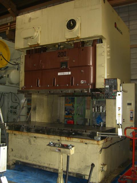 Amada 200T Electric C type press
