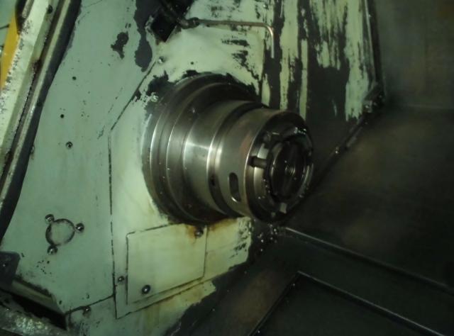Mazak CNC lathe