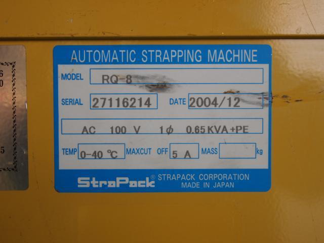 Strapack packing machine