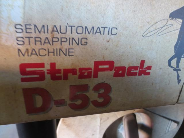 Strapack packing machine