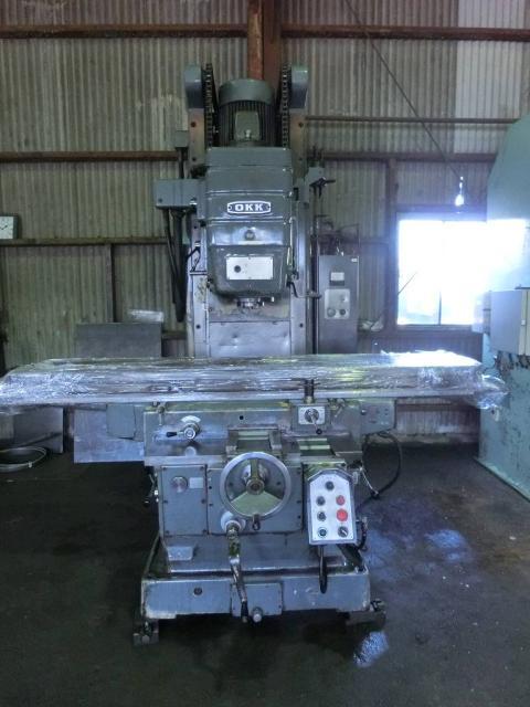 OKK Vertical Milling Machine
