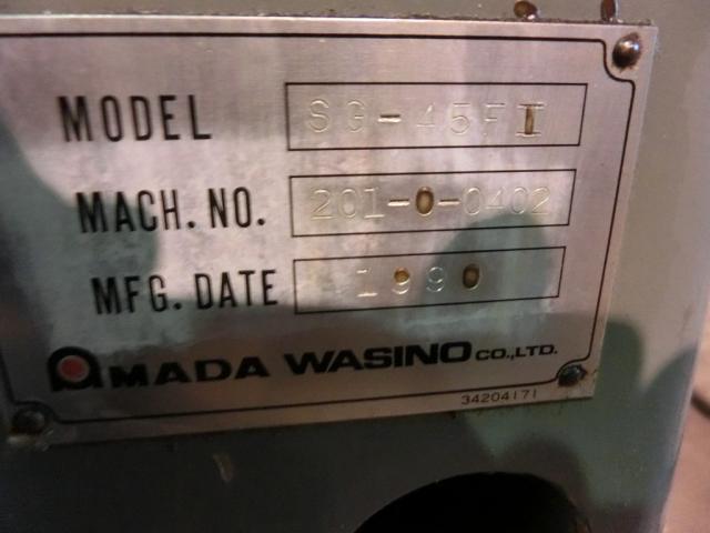 Washino Forming Grinding Machine