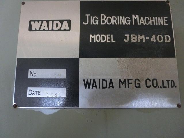 Waida Jig Boring Machine