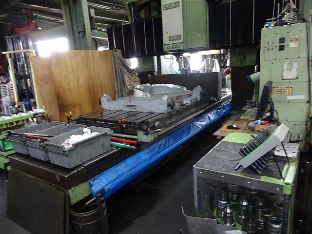 Okuma NC gate type milling cutter