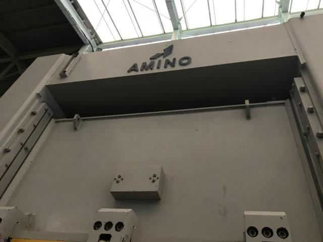 Amino 200T die spotting press