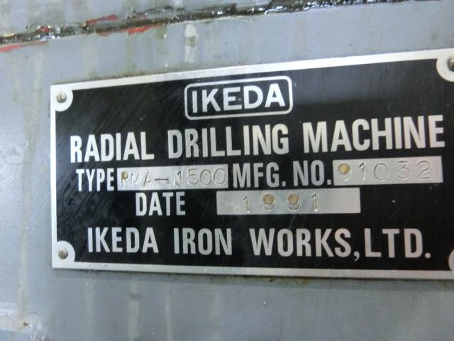 Ikeda 1500mm Radial drilling  Machine