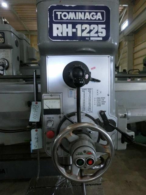 Tominaga 1225mm Radial drilling  Machine