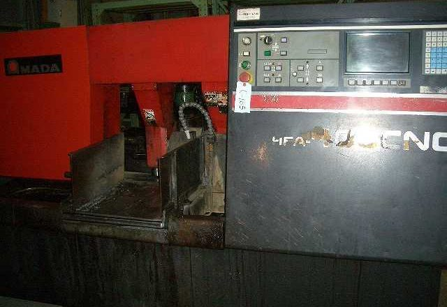 It is Amada 400mm Band Saw HFA-400CNC 1996