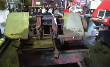 Amada 250mm Band Saw H-250SA 1983