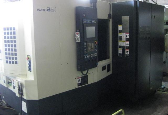 Makino Horizontal Machining center a51 2006
