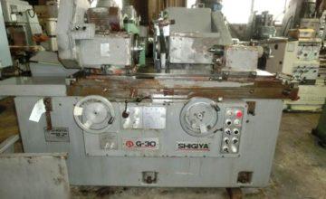 Shigiya Seiki Seisakusho Cylindrical Grinding Machine GP-30*60H 1982