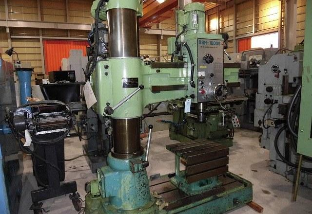 Darsin 1000mm Radial drilling machine DSR-1000S 1991