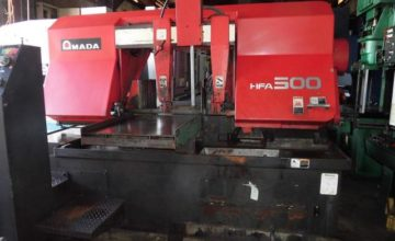 Amada 500mm Band Saw HFA-500 1995