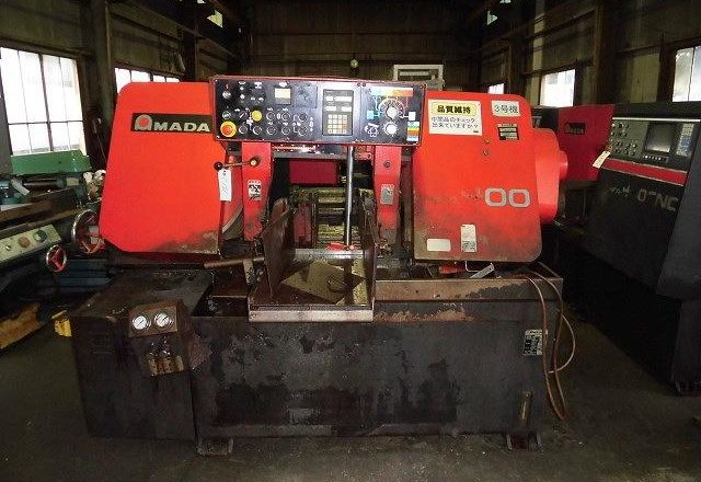 Amada 400mm Band Saw HFA-400 1996