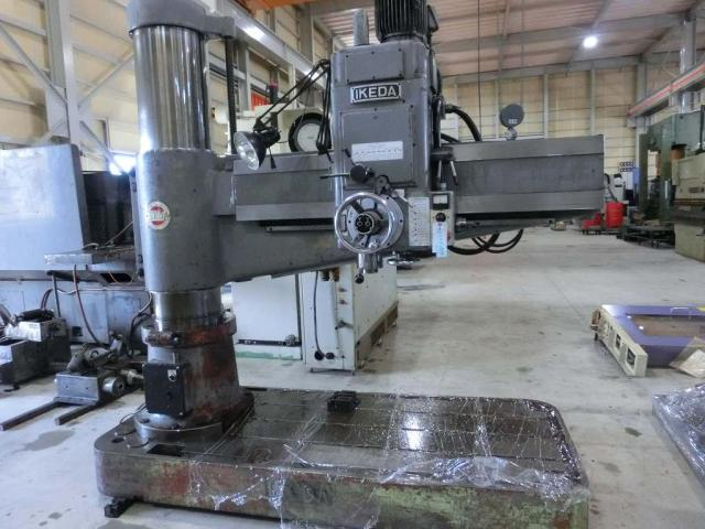 Ikeda 1500mm Radial drilling machine RMA-1500 1991