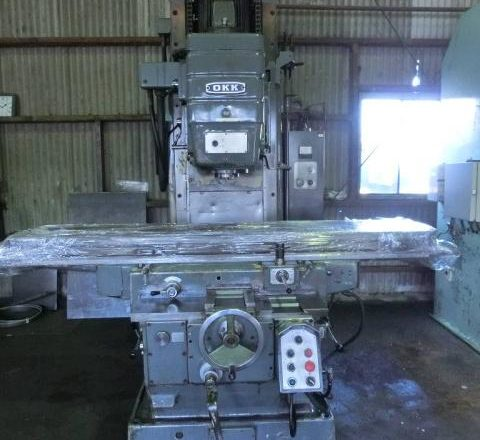 OKK vertical milling machine MH-4V 1978