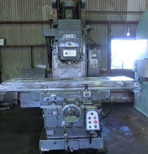 OKK vertical milling machine MH-4V 1978