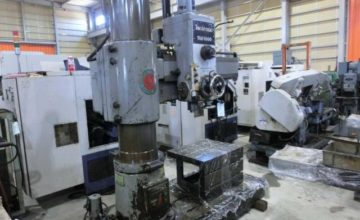 Tominaga 1000mm Radial drilling machine TRE-1000 1970