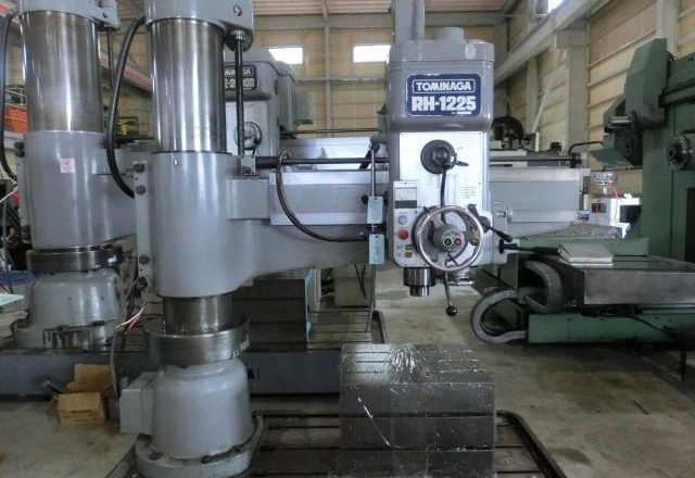 Tominaga 1225mm Radial drilling machine RH-1225 1989