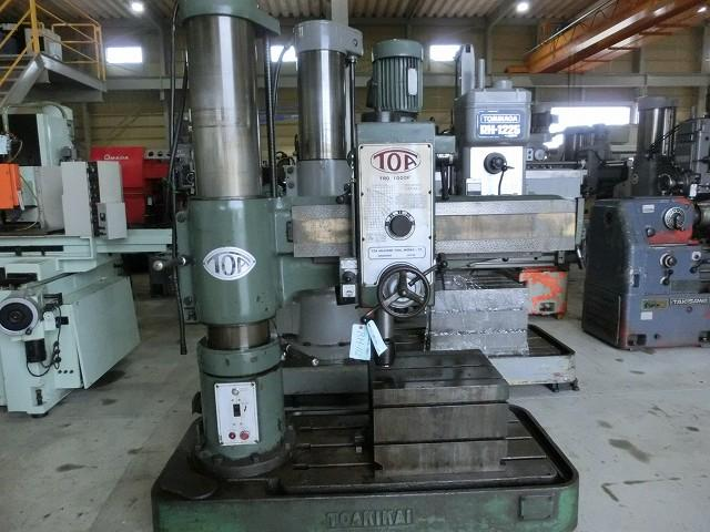 Toa 1000mm Radial drilling machine TRD-1000F 1977