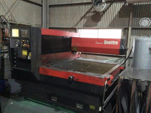 Amada Laser Cutting Machine Quattro 2003