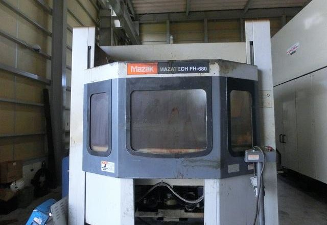Mazak HMC Horizontal machining center(BT50) FH-680 1998