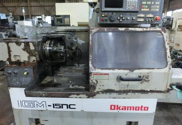 Okaoto CNC inner surface grinding machine IGM-15NC 1994