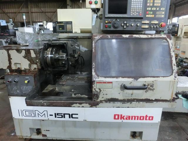 Okaoto CNC inner surface grinding machine IGM-15NC 1994