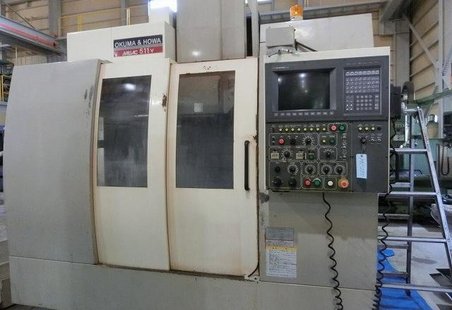 Okum VMC Vertical machining center(BT50) MILLAC-511V 1998
