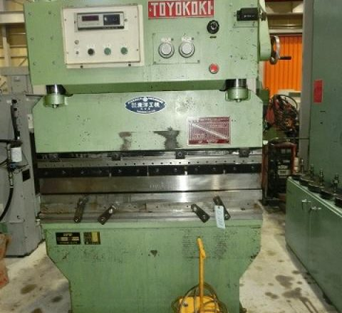 Toyokoki 1.2M Hydraulic Press Brake HPB-3512AS 1981