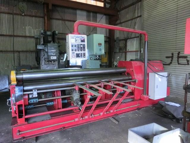Aiseru 2.5M Bending Roll machine BS-B2500 1989