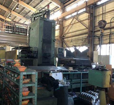 Mitsuiseiki HMC Horizontal machining center HR-7A 1988
