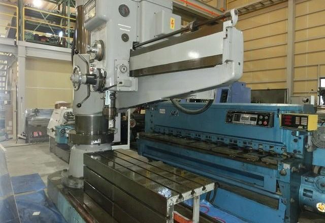Tominaga 1700mm Radial drilling machineTRE-1700D 1986