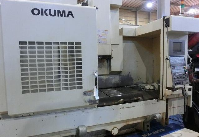 Okuma VMC Vertical machining center(BT50) MX-55VB 1998