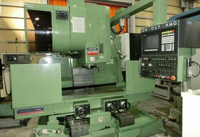 Okum VMC Vertical machining center(BT50) MILLAC-45V 1993