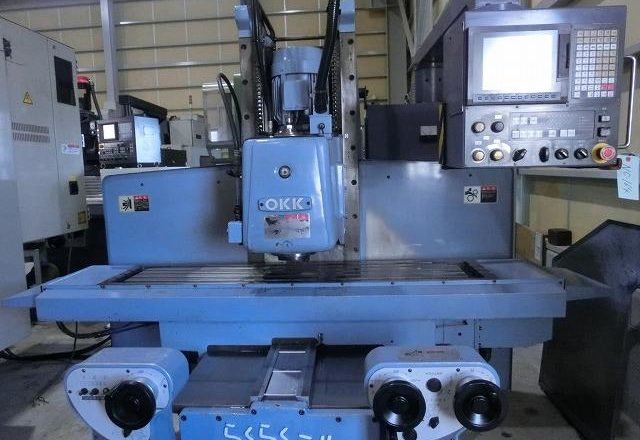 OKK NC vertical milling machine RRM-3V 2005