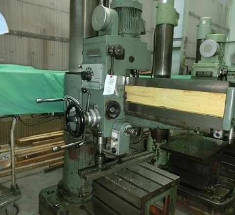 Toa 800mm Radial drilling machine TRD-800C 1989