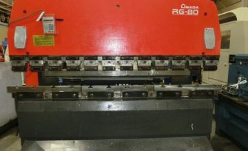 Amada 2.4M Hydraulic Press Brake RFB-8024 1987