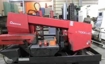 Amada 700mm Band Saw HK-700CNC 1998