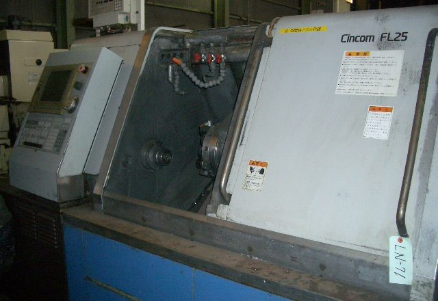 Citizen NC automatic lathe FL25 2002