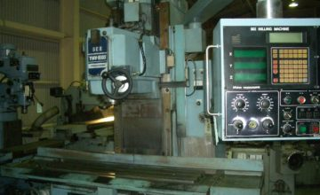 Yamaguchi Vertical Milling Machine YMV-1000 1992