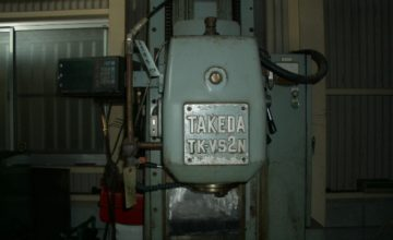 Takeda Vertical milling machine TK-VS2N 1985