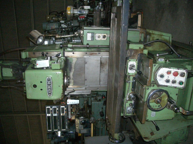 OKK vertical milling machine MH-2V 1983