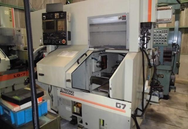 Wasino Comb-Shaped CNC Lathe G7 2000