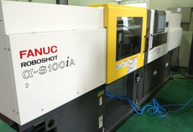Fanuc Plastic Injection molding machine α-S100iA 2014
