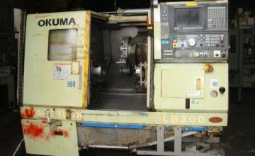 Okuma CNC Lathe LB300 1999
