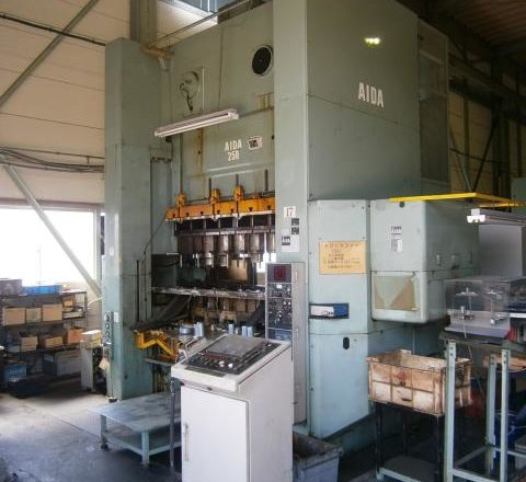 Aida 250T gate type press NCS-250 (2) 1994