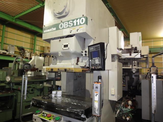 Komatsu 110T Electric C type press OBS-110-6B 2003