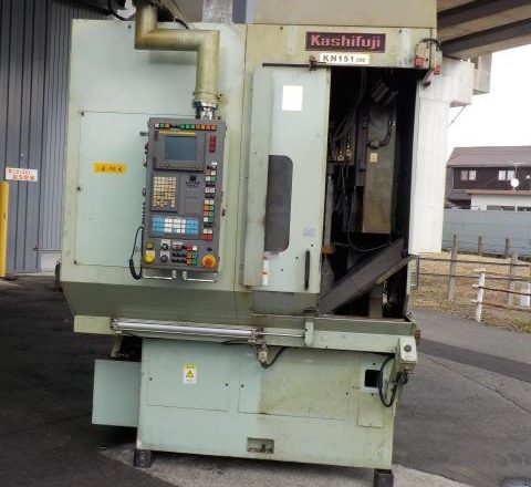 Kashifuji CNC Hobbing Machine KN151 2008