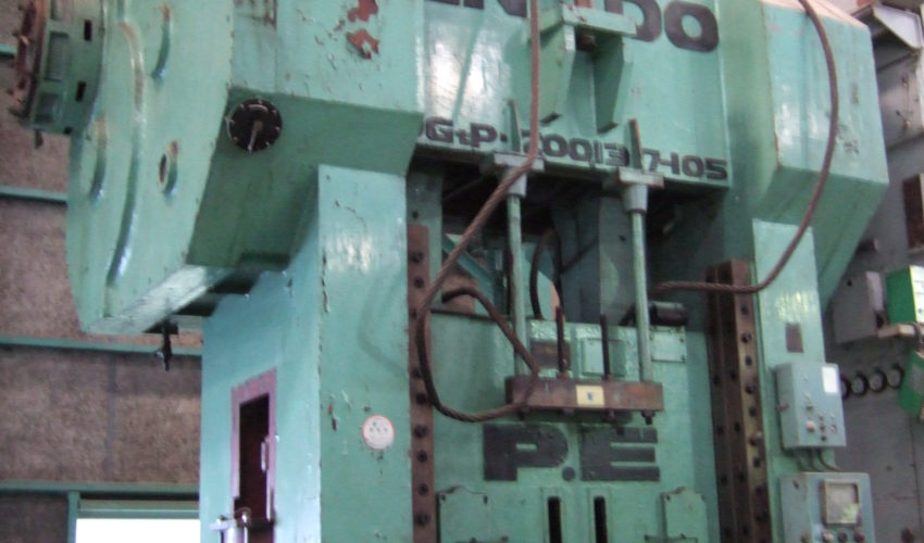 Endo 200T gate type press DG 2 P 200 - 137 - 105 1968